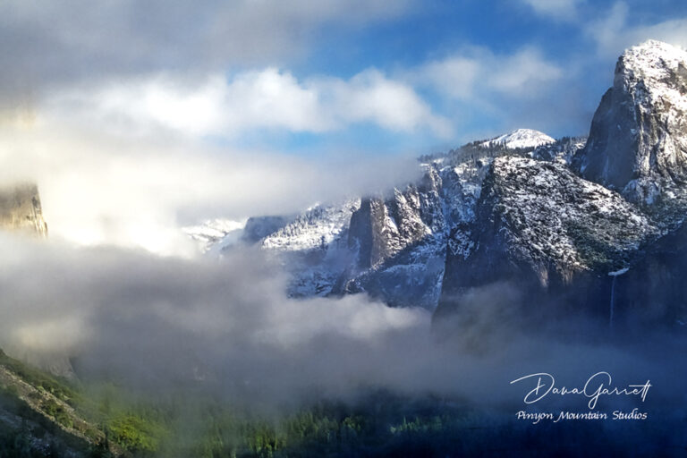 storm, clearing, cathedral peak, winter, tunnel view, yosemite, national park, california, yosemite ca, yosemite california, yosemite national park, yosemite park, dana garrett, pinyon mountain studios, pinyon mtn studios
